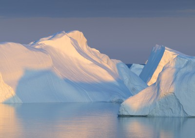 Iceberg, Disko Bay, Ilulissat, Greenland, North America