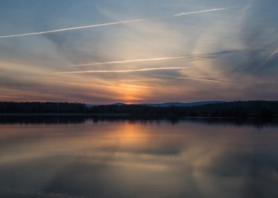 Sonnenaufgang Kinzigsee
