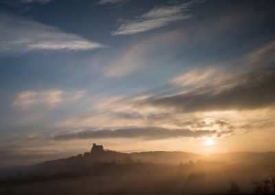 Sonnenaufgang Ronneburger Hügelland 2