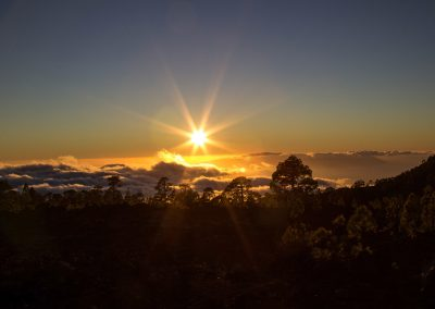 Sonnenuntergang Teide