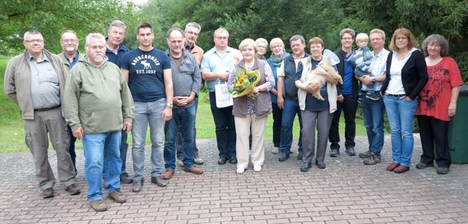 Sommertreffen des Naturfoto-Teams bei Gisela und Weigand